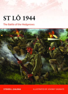 St Lo 1944.  The Battle of the Hedgerows (Osprey Campaign 308)