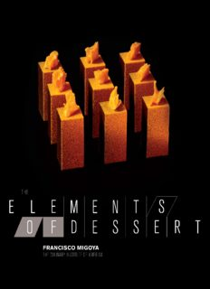 The elements of dessert