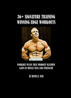 36 Signature Training Workout Programs