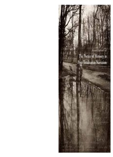 Johanna L indbladh (ed) The Poetics of M emory in Post-T otalitarian N arration Johanna ...