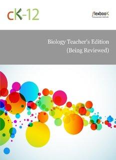 Biology, Teacher's Edition - rachel