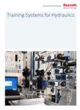 Training Systems for Hydraulics - Bosch