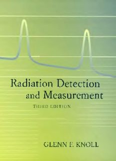 Radiation Detection and Measurement, 3rd ed - Glenn F. Knoll
