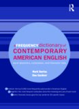 A Frequency Dictionary of Contemporary American English: Word Sketches, Collocates and Thematic