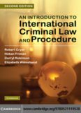 An Introduction to International Criminal Law and Procedure, Second Edition