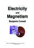 Electricity and Magnetism by Benjamin Crowell