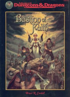 Bastion of Faith (Advanced Dungeons & Dragons)