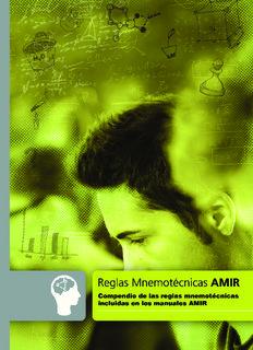Reglas Mnemotecnicas AMIR - Academia AMIR