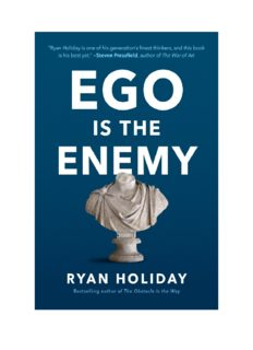 Ego is the Enenmy