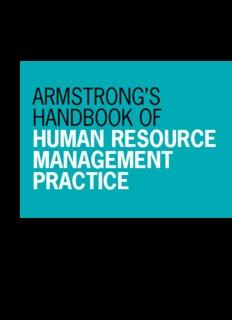 Armstrong's Handbook of HRM