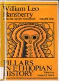 Pillars in Ethiopian History William Leo Hansberry