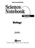 Science Notebook - Teacher Edition