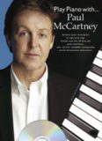 Play Piano With Paul McCartney-Authentic Piano transciptions-Music Book plus CD