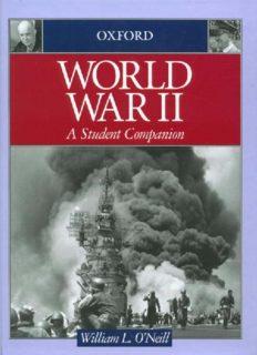 World War II: A Student Companion (Oxford Student Companions to American History)