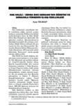 hak halili / zehra bacı dergahı'nın öğretisi ve dergahla türbenin iç-dış özellikleri