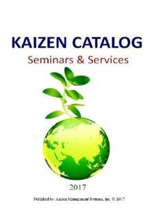 Leadership for Kaizen
