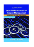 Lean Performance ERP Project Management
