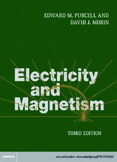 Electricity and Magnetism - Sicyon