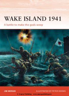 Wake Island 1941: A battle to make the gods weep (Osprey Campaign 144)