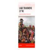 Lake Trasimene 217 BC.  Ambush and Annihilation of a Roman Army (Osprey Campaign 303)
