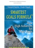 The Smartest Goals Formula – How High Achievers Set Their Goal.