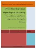 Proto-Indo-European Etymological Dictionary