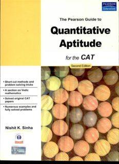 The Pearson Guide to Quantitative Aptitude for CAT 2/e