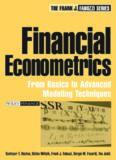 Financial Econometrics: From Basics to Advanced Modeling Techniques