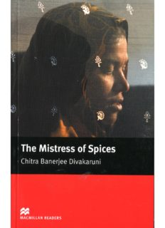 Mistress of Spices (Macmillan Readers)