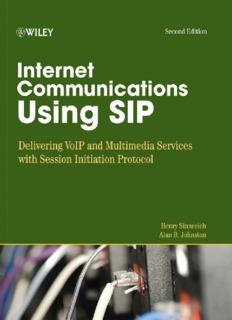Internet Communications Using SIP