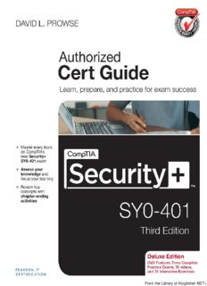 CompTIA® Security+ SY0-401 Authorized Cert Guide, Deluxe Edition