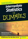 Dr. Deborah Rumsey's 'Intermediate Statistics for Dummies'