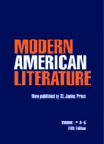 Modern American Literature Edition 5. (Modern American Literature)