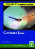 Contract Law, Fourth Edition (Law Cards)
