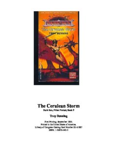 The Cerulean Storm (Dark Sun: Prism Pentad, Book 5)