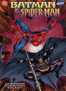 DC Marvel Comics - Batman & Spiderman