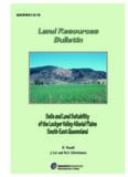 Soils and Land Suitability of the Lockyer Valley Alluvial Plains, South-East Queensland