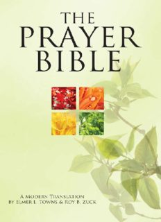 The Prayer Bible - A Modern Translation