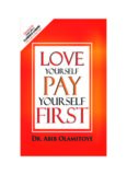 Love Yourself, Pay Yourself First
