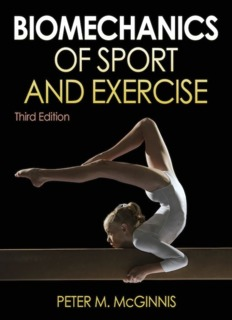 Bio-mechanics of Sport and Exercise