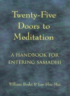 Twenty-Five Doors to Meditation: A Handbook for Entering Samadhi