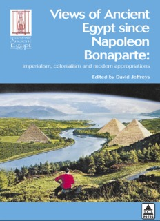 Views of Ancient Egypt Since Napoleon Bonaparte