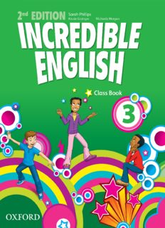 Incredible English 3 Class Book