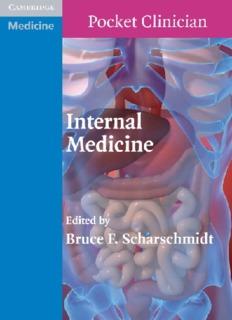 Pocket Clinician Internal Medicine