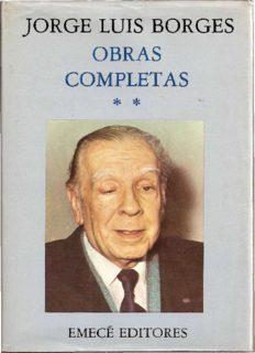 JORGE LUIS BORGES OBRAS COMPLETAS