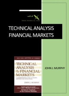 technical analysis financial markets