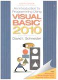 An introduction to programming using Visual Basic 2010 : with Microsoft Visual Studio Expression editions DVD