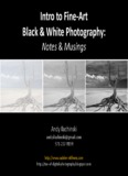 Intro to Fine-Art Black & White Photography: - Tao of Photography