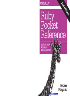 Ruby Pocket Reference, 2nd Edition: Instant Help for Ruby Programmers