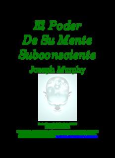 El Poder De Su Mente Subconsciente
